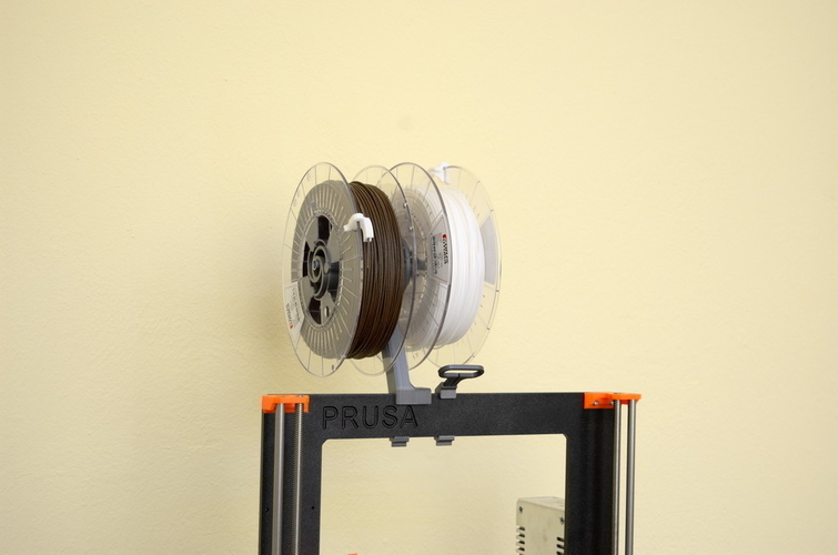 Versatile Spool Holder for Prusa MK2/3 (and not only) 3D Print 192100