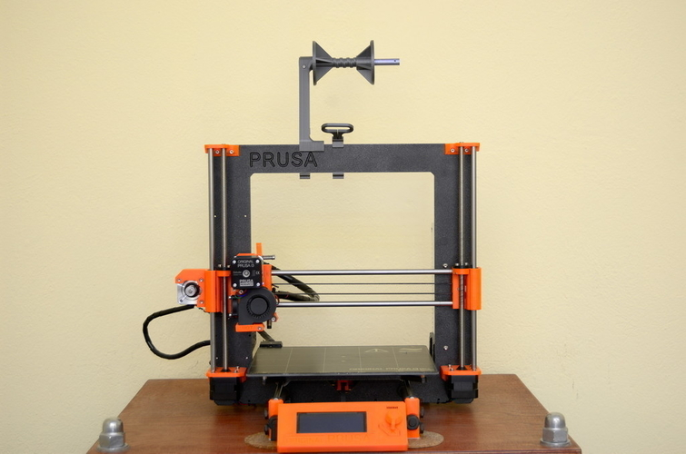 Versatile Spool Holder for Prusa MK2/3 (and not only) 3D Print 192101