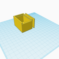 Small Box with sliding lid 3D Printing 192188