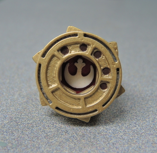 Star Wars Rose's Rebel Alliance Iris Ring 3D Print 192248
