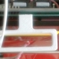 Small Filament guide (LCD wall) 3D Printing 192285