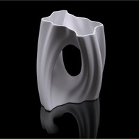 Small Julia Vase #002 - Flow 3D Printing 19231
