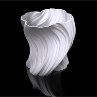 Small Julia Vase #004 - Bloom 3D Printing 19233