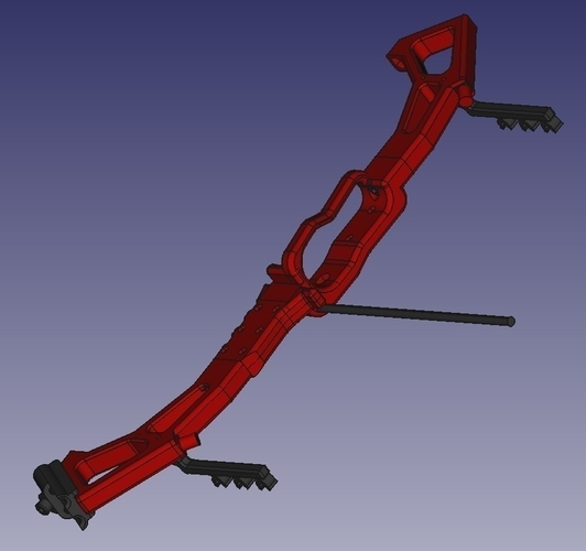Survival Compound Bow ver. 2.0 3D Print 192373