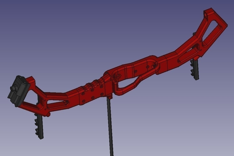 Survival Compound Bow ver. 2.0 3D Print 192374
