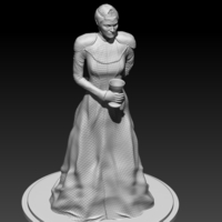 Small Cersei Lannister 3D Printing 192506