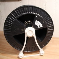 Small Spool holder for spools with 2.5Kg/Rollenhalter für 2.5Kg Rolle 3D Printing 192517