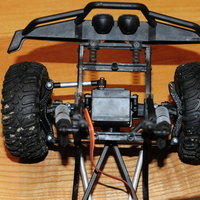 Small SCX10 BTA behind the axle steering 3D Printing 192575