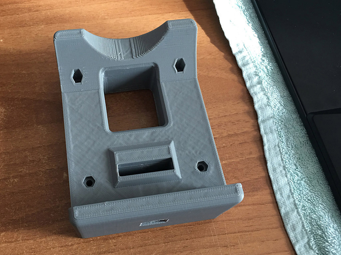 HP 22es monitor - 75mm VESA adapter 3D Print 192576