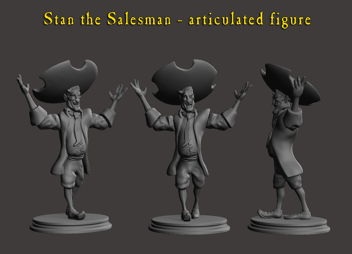 Stan the Salesman!!  3D Print 192598