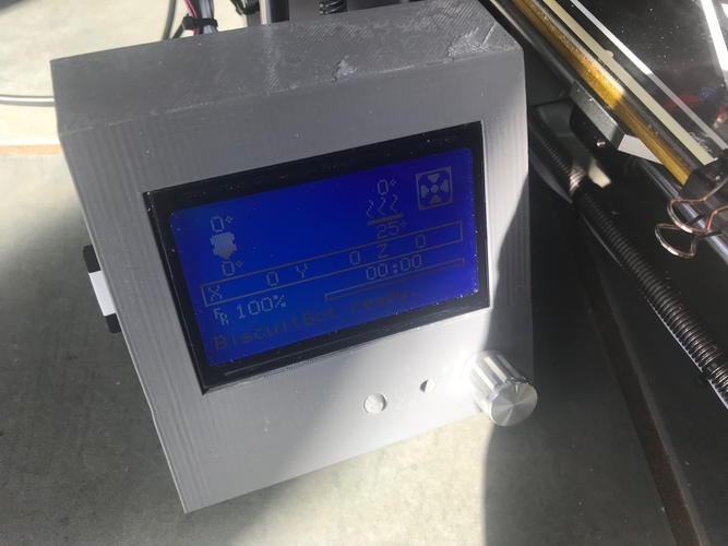 Reprapdiscount Full Graphic Smart LCD Controller Housing 3D Print 192620