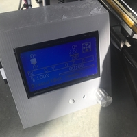 Small Reprapdiscount Full Graphic Smart LCD Controller Housing 3D Printing 192620