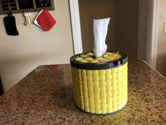 TP Tissue Dispenser 3D Print 192629