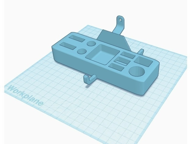 Tool Caddy for Flash Forge Creator Pro FFCP 2016 Model 3D Print 192645