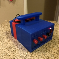 Small ATX Bench Power Supply w Cord Storage 3D Printing 192670