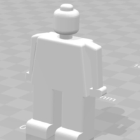 Small lego man 3D Printing 192712