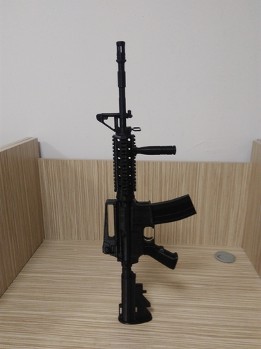 M4A1-S real size 3D Print 192719