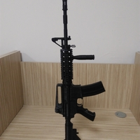 Small M4A1-S real size 3D Printing 192719