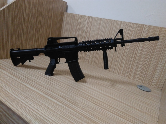 M4A1-S real size 3D Print 192720