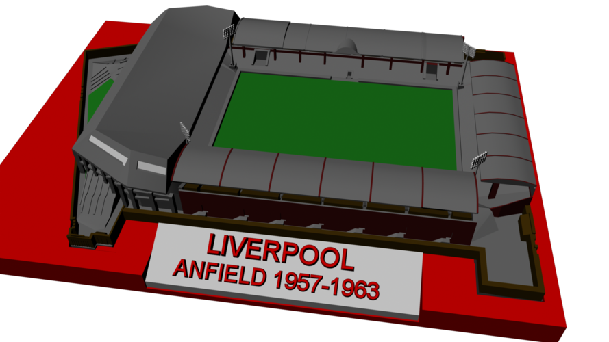 Liverpool - Anfield 1957 3D Print 192767