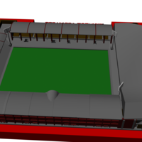 Small Liverpool - Anfield 1957 3D Printing 192769