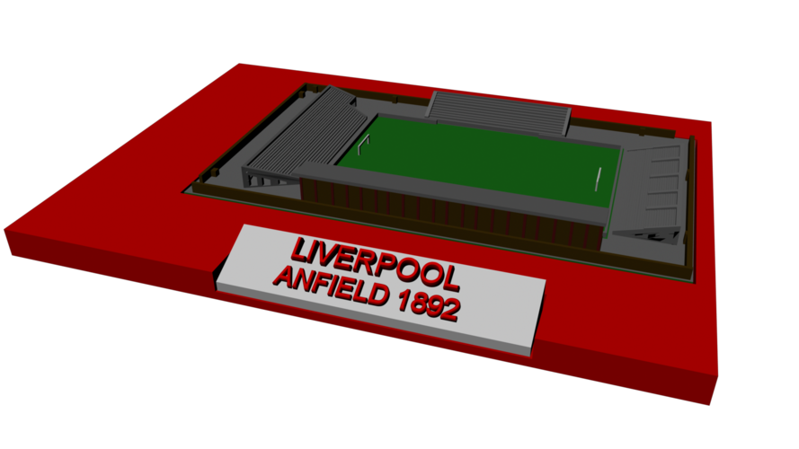 Liverpool - Anfield 1892 3D Print 192776
