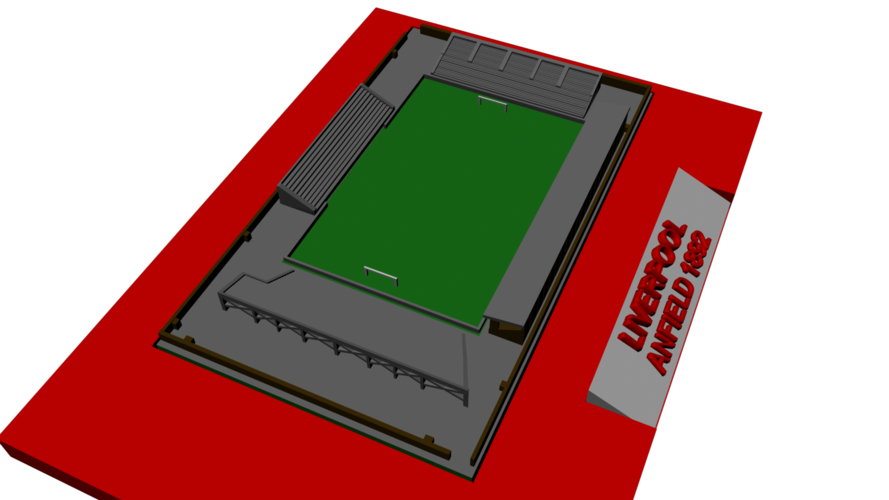 Liverpool - Anfield 1892 3D Print 192777