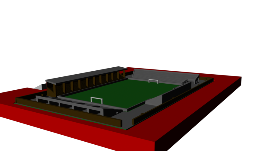 Liverpool - Anfield 1892 3D Print 192778