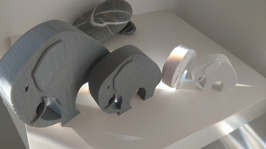 Stylish Elephant 3D Print 192782