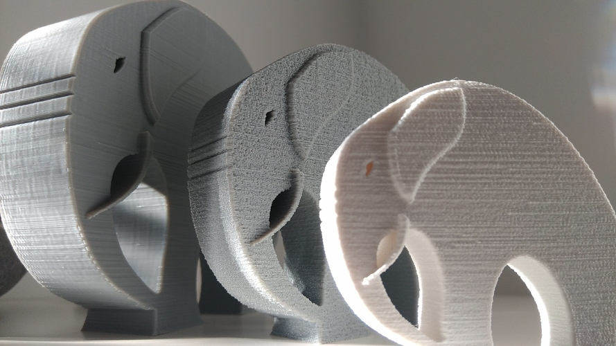 Stylish Elephant 3D Print 192783