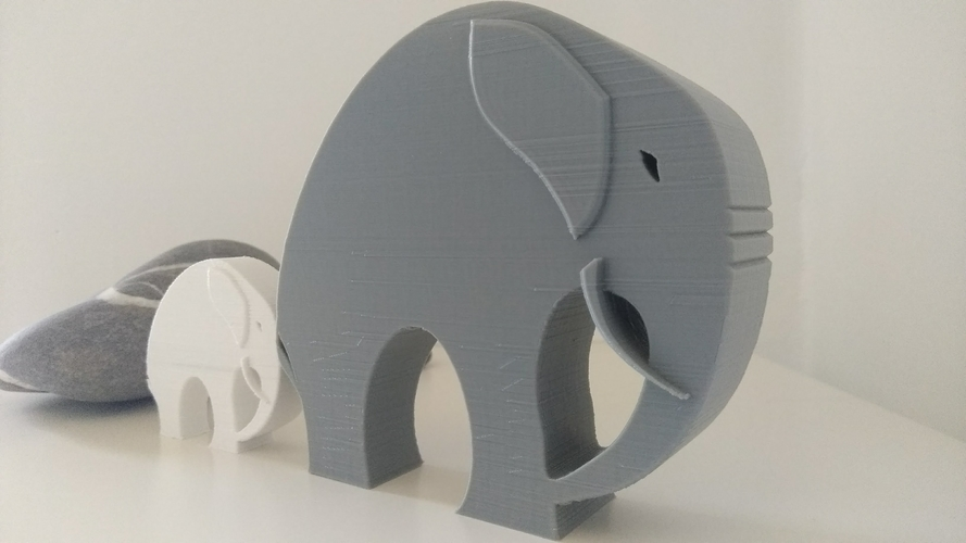 Stylish Elephant 3D Print 192786