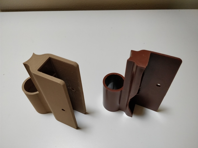 Raised Garden wood hinge replacement (frame it all) 3D Print 192807