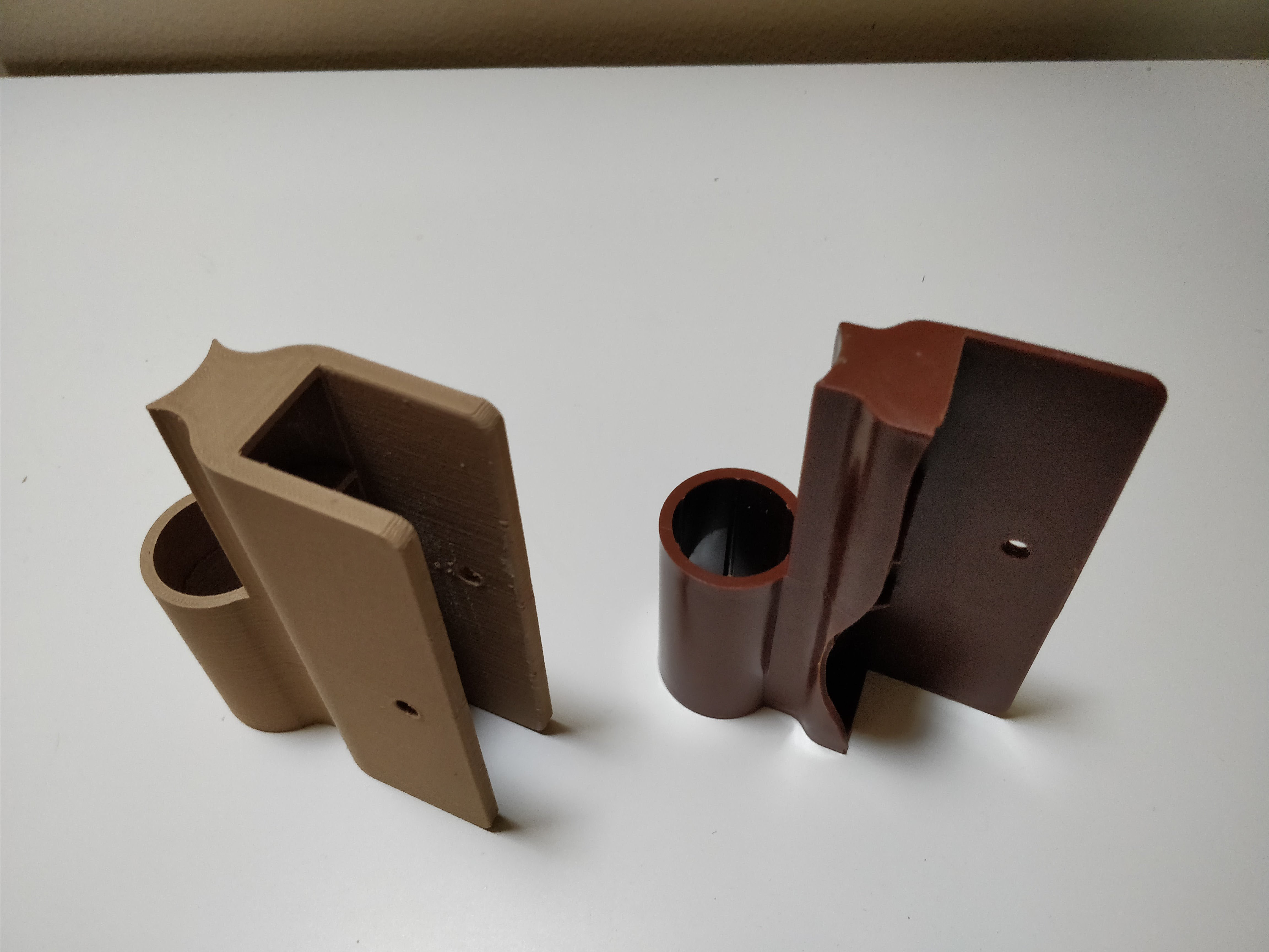 3D Printed Raised Garden wood hinge replacement (frame it all) by ...