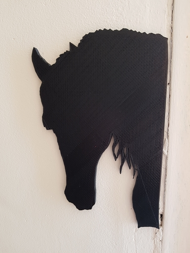 shadow of a horse and a dog 3D Print 192821