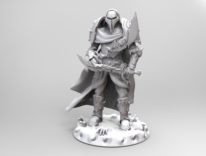 heavenly warrior steel 3D Print 19292