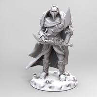 Small heavenly warrior steel 3D Printing 19292