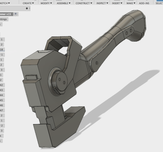 Blacklight Retribution: Breach Hammer 3D Print 192929