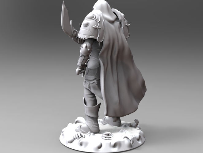 heavenly warrior steel 3D Print 19293