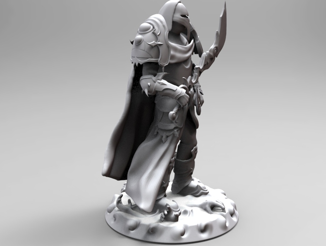 heavenly warrior steel 3D Print 19294