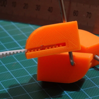 Small Y axis Belt Clamp for Flsun Cube 3D Printing 193008