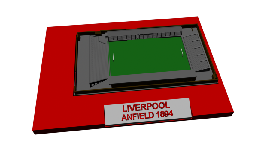 Liverpool - Anfield 1894 3D Print 193023
