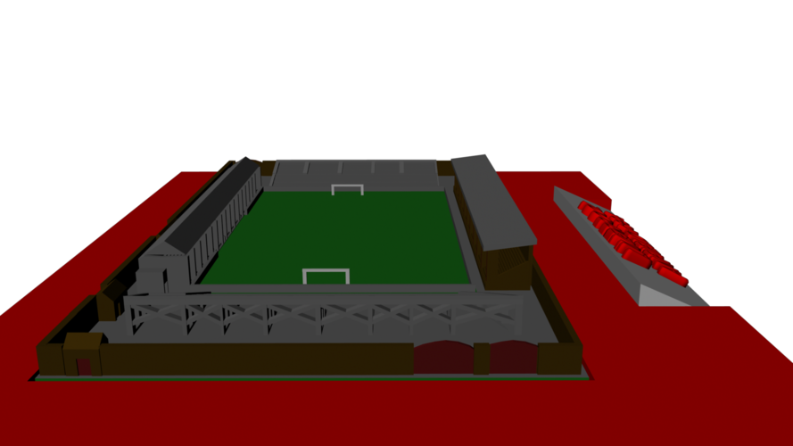 Liverpool - Anfield 1894 3D Print 193024