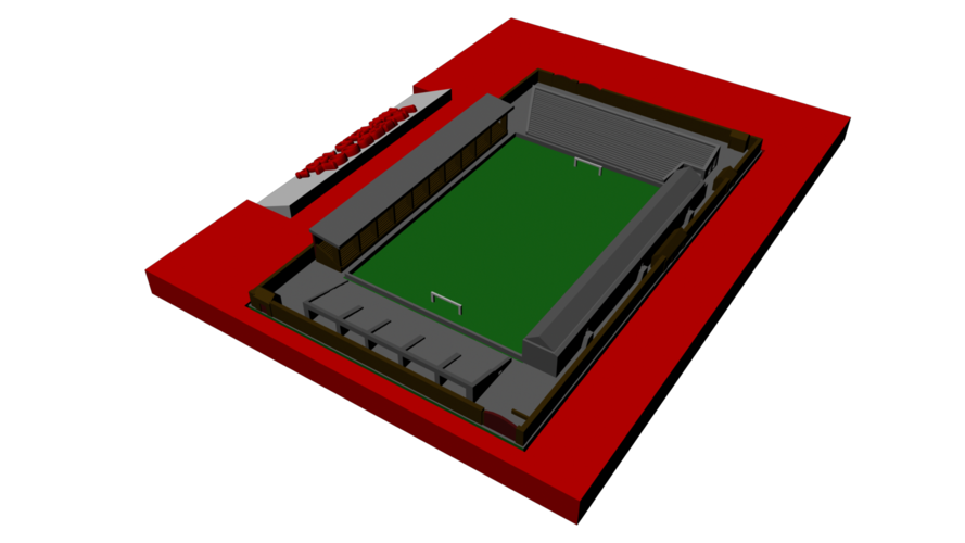 Liverpool - Anfield 1894 3D Print 193025