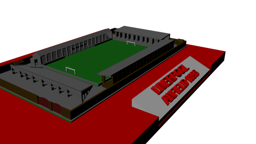 Liverpool - Anfield 1896 3D Print 193036