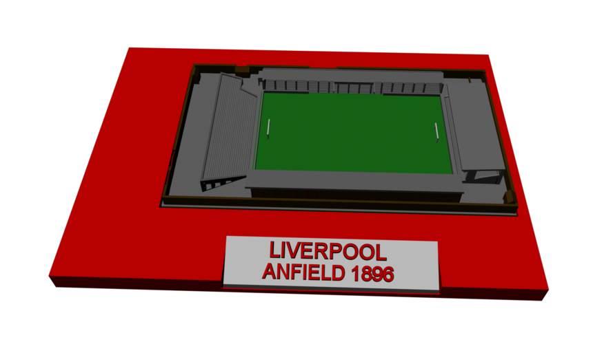 Liverpool - Anfield 1896 3D Print 193037