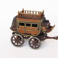 Small HG3D Raghaven Collection - Travellers Carriage - 28mm 3D Printing 193055
