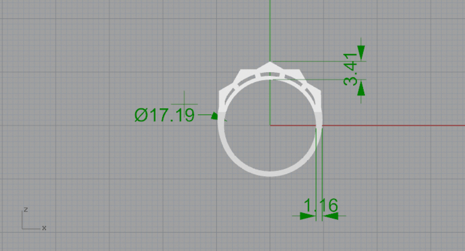 ring square effect 3D Print 193105