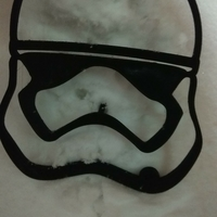 Small Stormtrooper snoman face part 3D Printing 193120