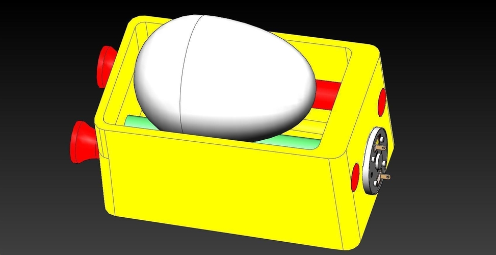 EggDeco Machine #1 3D Print 193244