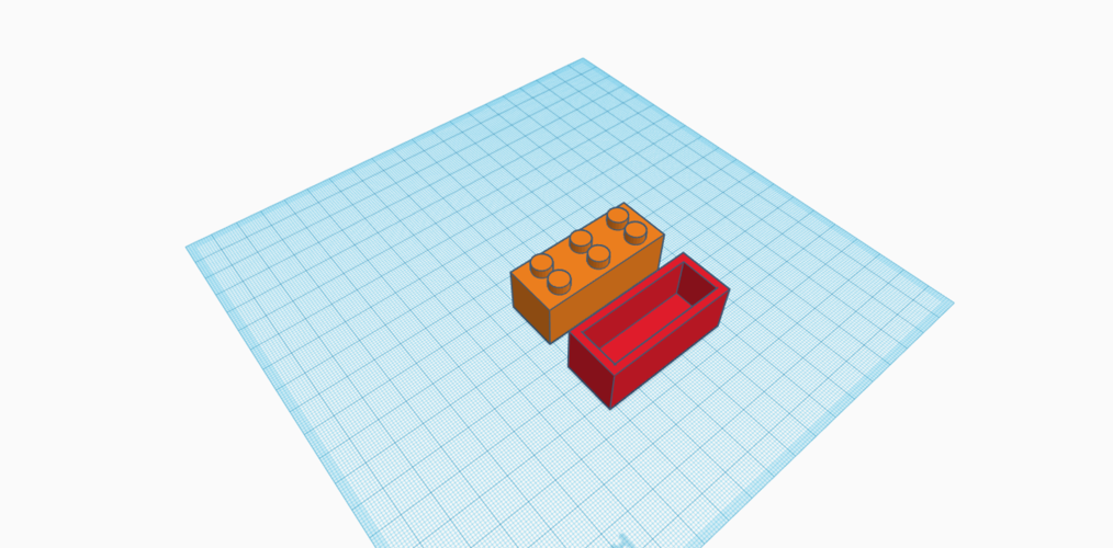 Lego container 3D Print 193277